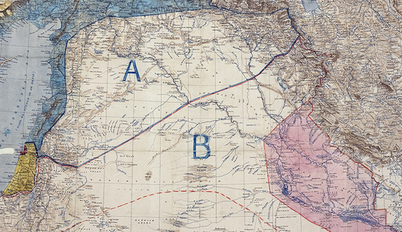 Sykes_Picot_Agreement_Map_signed_8_May_1916