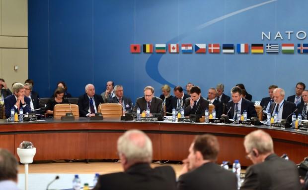 Secretary_Kerry_Listens_as_NATO_Secretary-General_Rasmussen_Opens_Ukraine_Session_(14318611558)
