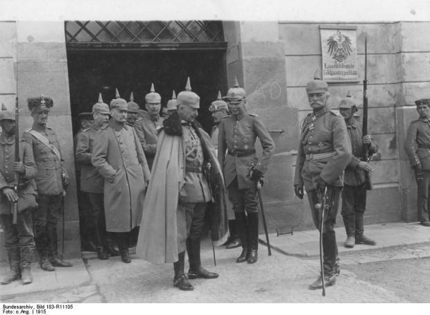 Kaiser Wilhelm II., August v. Mackensen