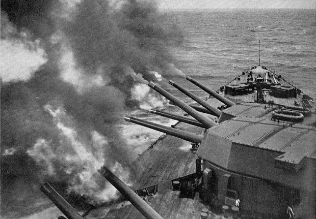 HMS_Rodney,_firing_a_salvo_(Warships_To-day,_1936)