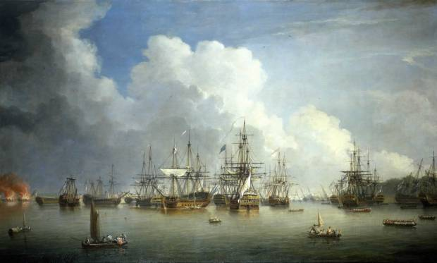 Dominic_Serres_the_Elder_-_The_Captured_Spanish_Fleet_at_Havana,_August-September_1762