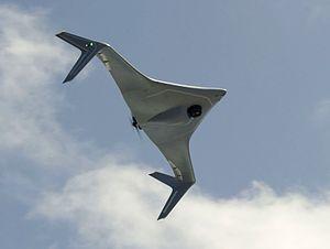 Northrop_Grumman_Bat_UAV_in_flight_in_June_2014