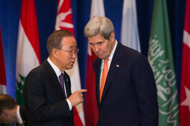 secretary_kerry_chats_with_un_secretary-general_ban_before_hosting_the_international_syria_support_group_meeting_in_new_york_city_282372078938229