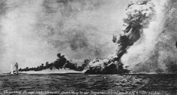 HMS_Queen_Mary_Jutland