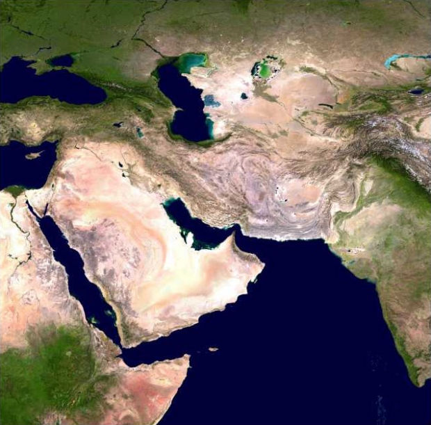 western_asia_map